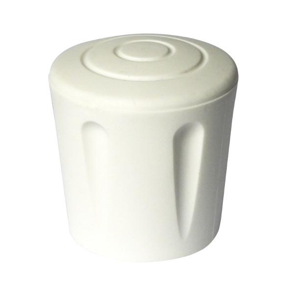 embout blanc pour tube rond utilisable utilisable ext rieur renforc embouts ext rieurs achatmat. Black Bedroom Furniture Sets. Home Design Ideas