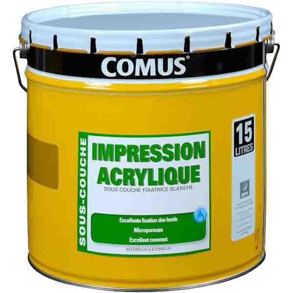 Impression acrylique microporeuse comus impression for Sous couche acrylique la rochelle