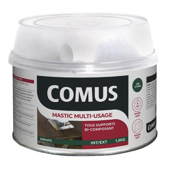 mastic multi usages bi composant souple comus enduits sous couches peintures achatmat. Black Bedroom Furniture Sets. Home Design Ideas