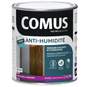 peinture anti humidit primaire et finition comus. Black Bedroom Furniture Sets. Home Design Ideas