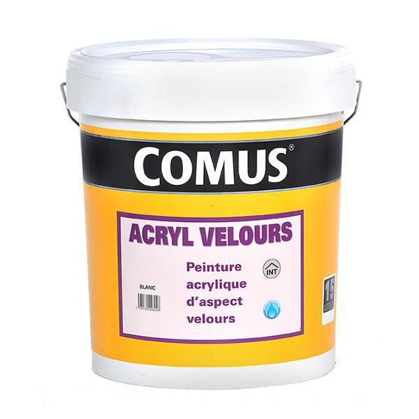 Peinture finition mat lavable comus acryl mat veloute for Peinture lavable