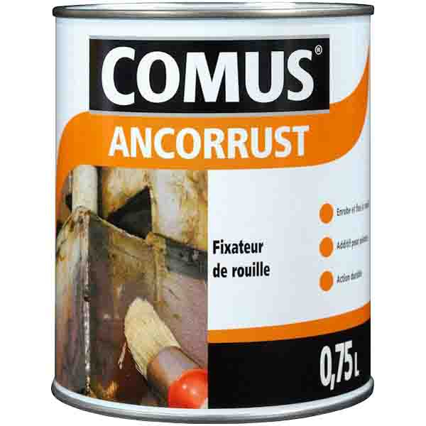 Vernis fixateur de rouille avant mise en peinture comus - Peinture aspect rouille ...