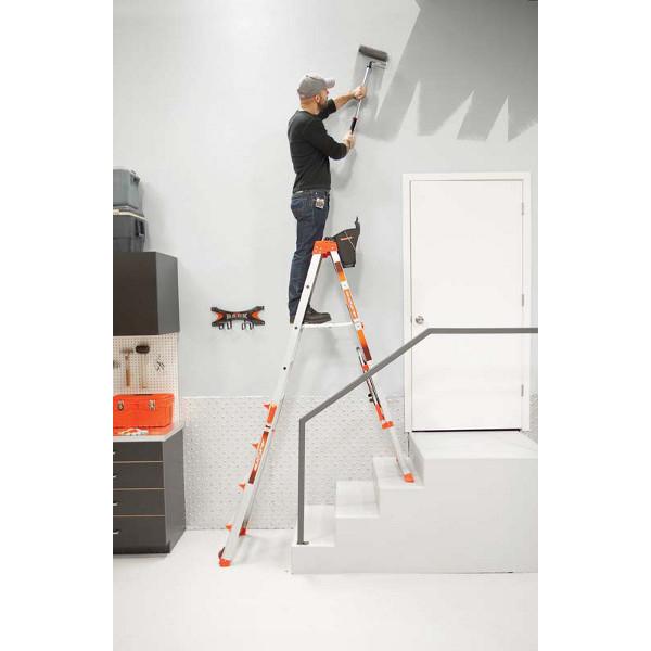 escabeau t lescopique little giant select step 5 8 airdeck. Black Bedroom Furniture Sets. Home Design Ideas