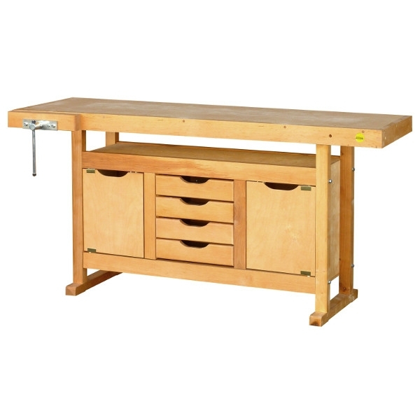 Etabli bois avec caisson de rangement pictures to pin on - Caisson de rangement en bois ...