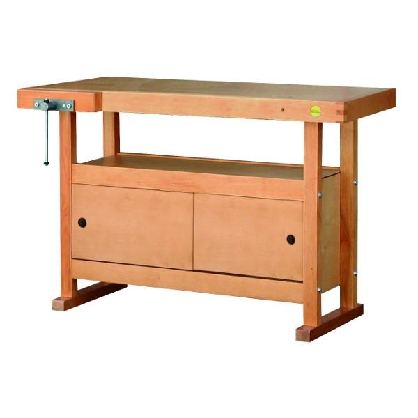 Etabli bois avec caisson de rangement etablis bois achatmat - Caisson rangement bois ...