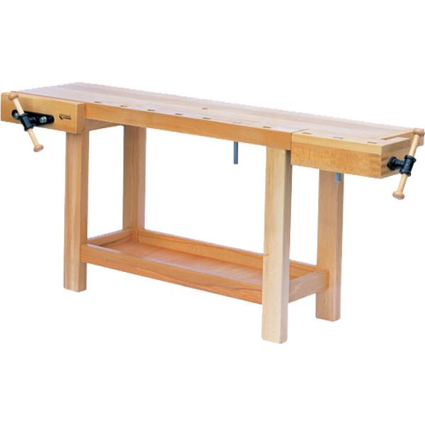 etabli menuisier b niste 2000x500 presse horizontale etablis bois achatmat. Black Bedroom Furniture Sets. Home Design Ideas