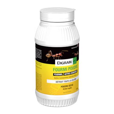 Digrain insecticide fourmis et autres rampants poudre for Peinture insecticide