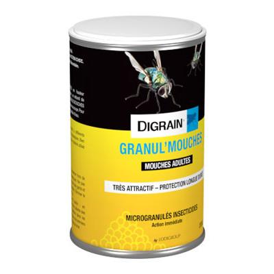 digrain insecticide granu 39 l mouches en granul effet choc insecticides contre les volants et. Black Bedroom Furniture Sets. Home Design Ideas