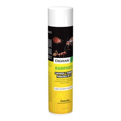 Digrain insecticide longue dur e et choc pour rampants insecticides contre les volants et - Produit anti araignee longue duree ...