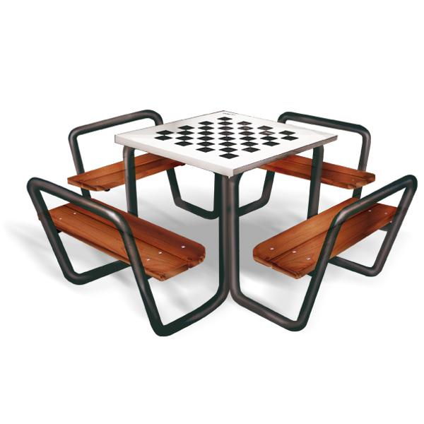 table d 39 checs jeux dynamiques tourniquets achatmat. Black Bedroom Furniture Sets. Home Design Ideas