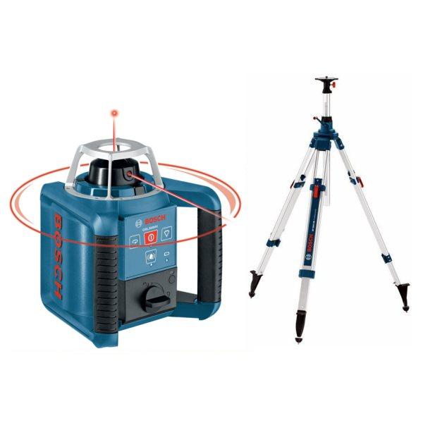Laser grande port e rotatif et point avec tr pied bosch for Trepied pour laser bosch