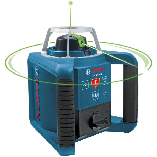 Laser rotatif avec tr pied bosch grl 300 hv 061599404a for Trepied pour laser bosch