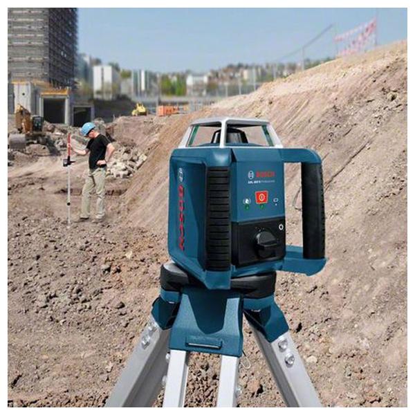 Laser rotatif longue distance avec tr pied et mire bosch for Trepied pour laser bosch