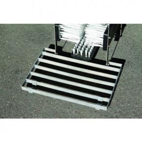paillasse caillebotis pour nettoyeur de bottes acier inox. Black Bedroom Furniture Sets. Home Design Ideas