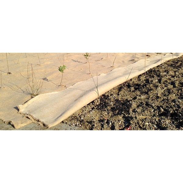 Toile de paillage biod gradable biogeo 1000 achatmat for Geotextile sicam