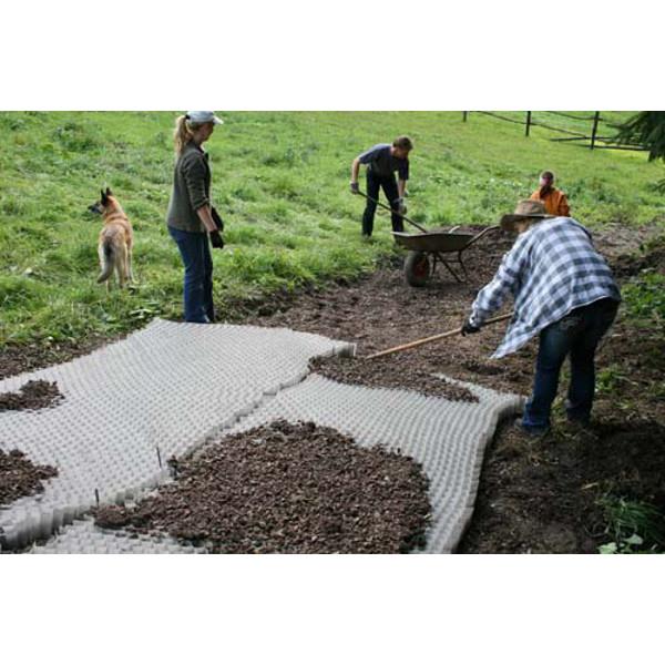 Stabilisateur de gravier groundgridtm achatmat for Dupont ground grid stabilisateur de graviers