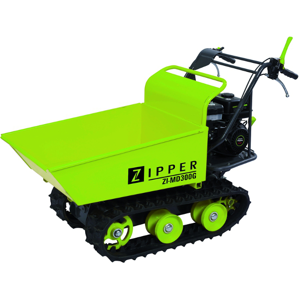brouette sur chenille mini dumper thermique 300kg zipper. Black Bedroom Furniture Sets. Home Design Ideas
