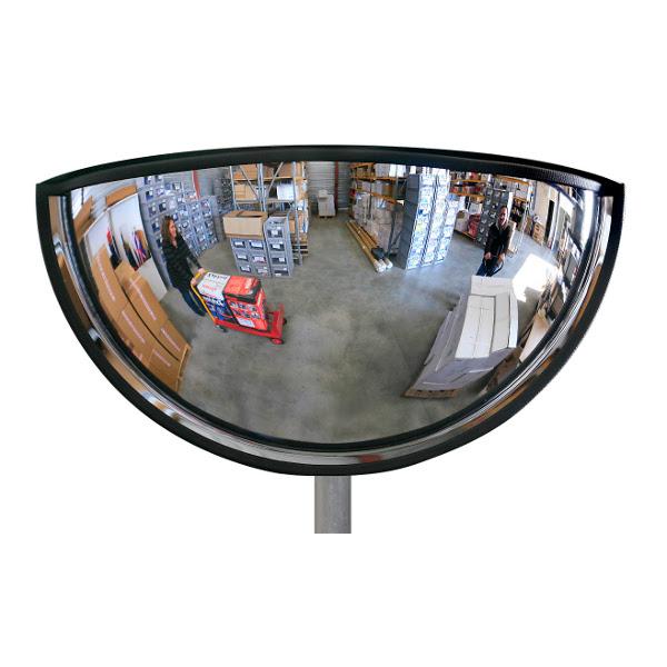 Miroir de surveillance 1 4 sph re panoramique vision 180 for Miroir en ligne pour se voir