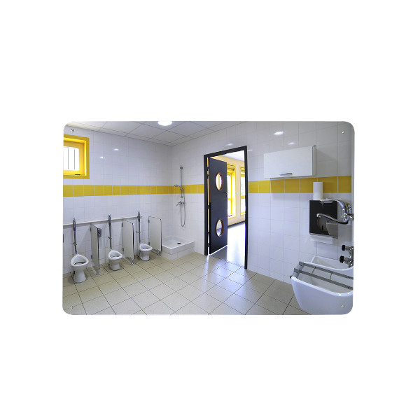 miroir plat pour sanitaires miroir de signalisation et routier achatmat. Black Bedroom Furniture Sets. Home Design Ideas