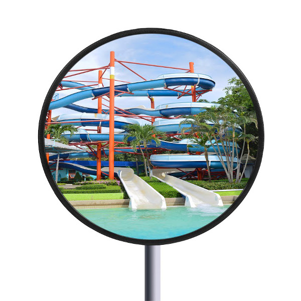Miroir de surveillance en inox sp cial piscine miroir for Securite piscine miroir