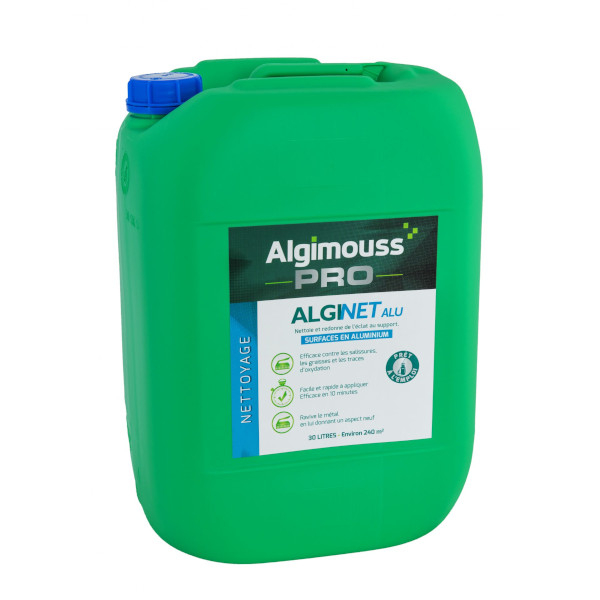 nettoyant aluminium algimouss alginet alu nettoyage traitement multisurfaces achatmat. Black Bedroom Furniture Sets. Home Design Ideas