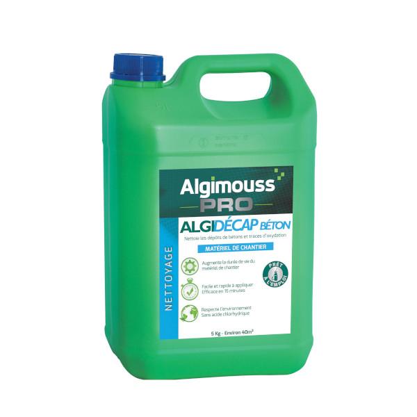 Sp cial b ton algimouss algidecap b ton nettoyage traitement multisurfaces - Traitement dalle beton exterieur ...