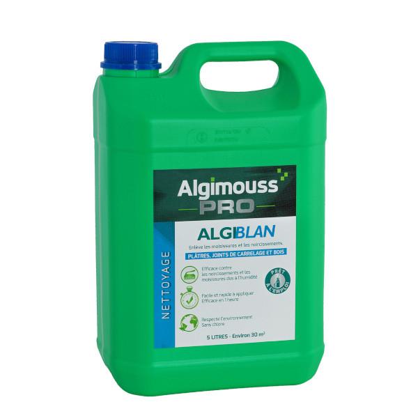 Nettoyant bois noircis moisissures algimouss algiblan for Nettoyant joint de carrelage
