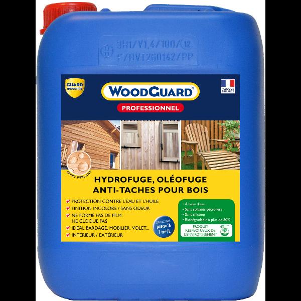 Produit hydrofuge bois woodguard professionnel nettoyage for Produit nettoyage mur exterieur
