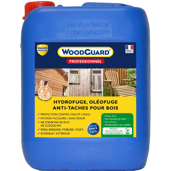 produit hydrofuge bois woodguard professionnel nettoyage