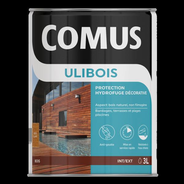 Protection d corative acrylique et hydrofuge comus ulibois - Traitement hydrofuge bois ...