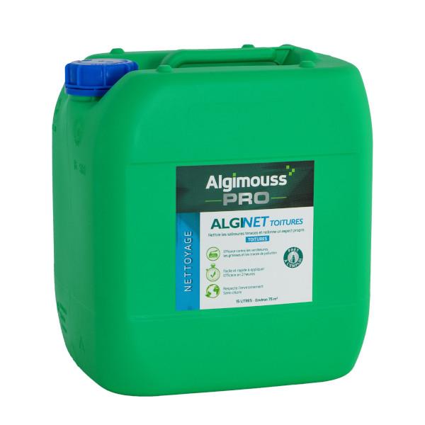 Algimouss alginet toitures nettoyage traitement toiture achatmat - Anti mousse toiture leroy merlin ...