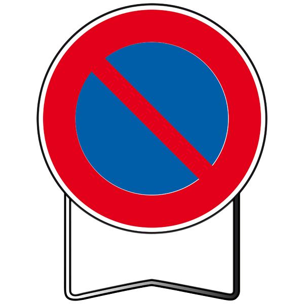 panneaux temporaire de prescription b6a1 stationnement interdit panneaux de prescription et de. Black Bedroom Furniture Sets. Home Design Ideas