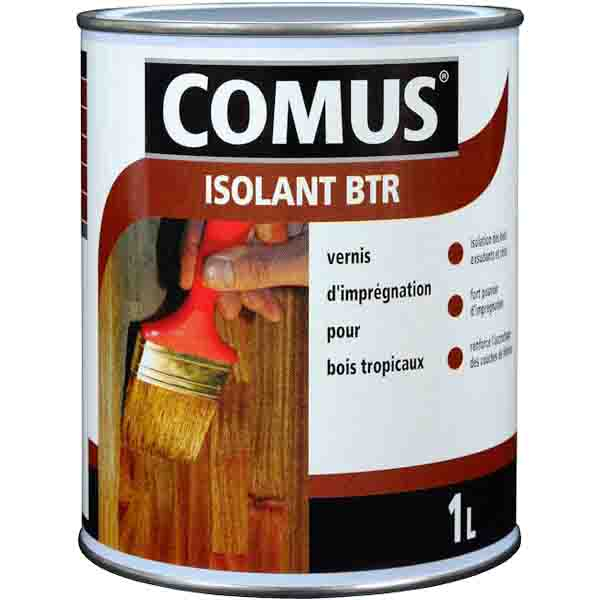 vernis mono composant isolation bois tropicaux comus isolant btr peinture lasures vernis. Black Bedroom Furniture Sets. Home Design Ideas