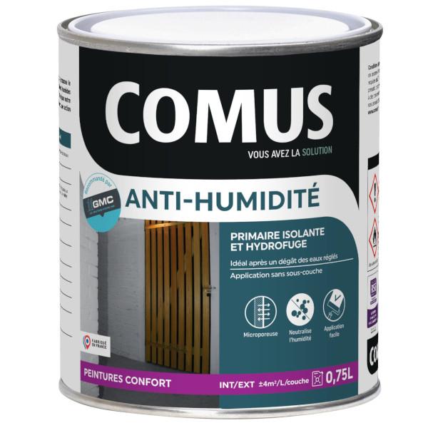 Peinture anti humidit primaire et finition comus for Peinture anti humidite