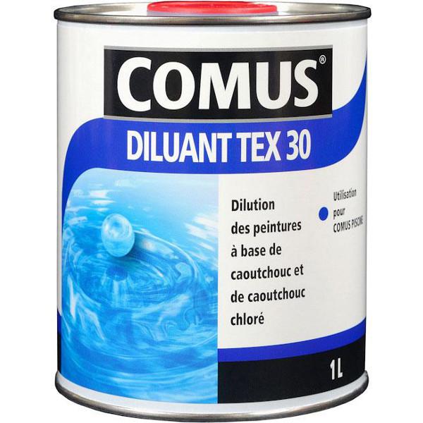 Diluant peintures piscine comus tex30 peintures for Peinture de piscine