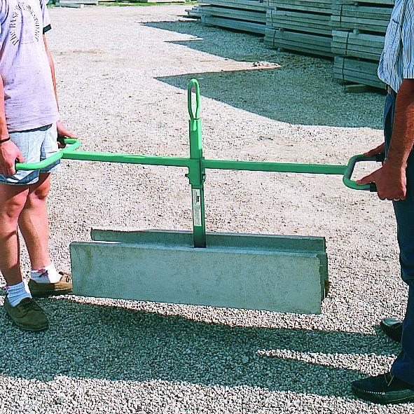 Pince pose bordures ou l ments en b ton imer pzc l pinces de levage achatmat - Pose bordure beton ...
