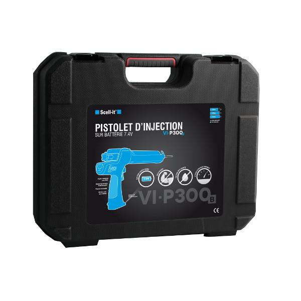 pistolet d 39 injection sur batterie cartouches de 280 310. Black Bedroom Furniture Sets. Home Design Ideas