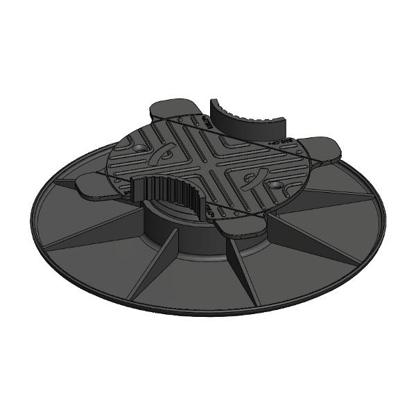 plot de terrasse r glable de 30 50 mm plots et. Black Bedroom Furniture Sets. Home Design Ideas