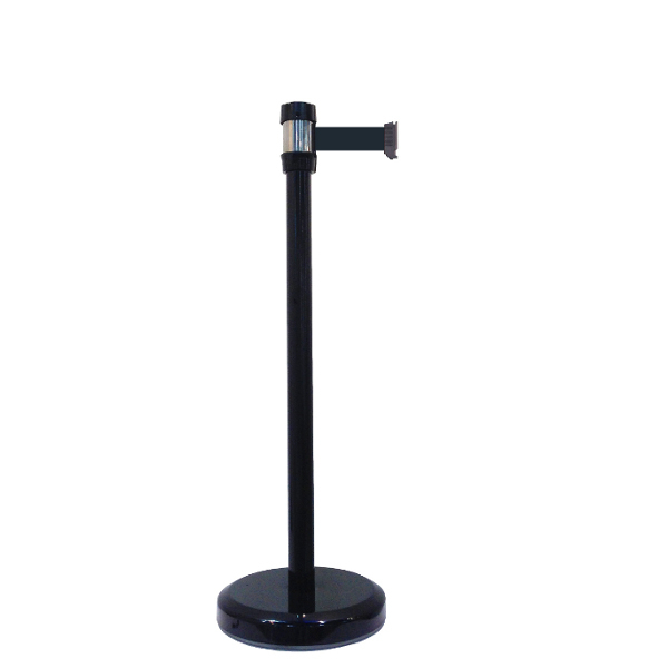 poteau de guidage noir sangle premium 2 10 m poteaux. Black Bedroom Furniture Sets. Home Design Ideas