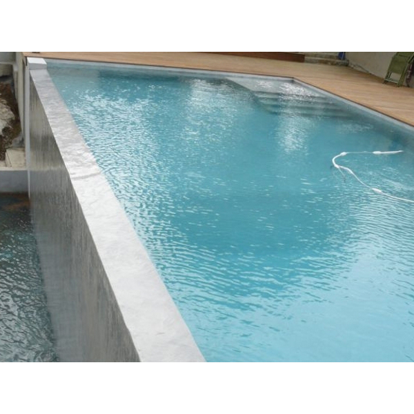 Enduit d 39 tanch it des piscines citernes et cuves for Piscine beton banche