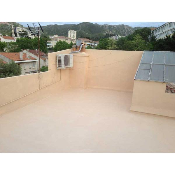 R sine d 39 tanch it pour toit terrasse avec pente 1 5 for Produit etancheite terrasse