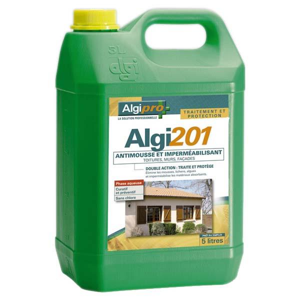Antimousse et imperm abilisant algimouss algi 201 - Produit de traitement impermeabilisant des tuiles ...