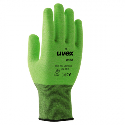 Uvex C500 liner gant protection risques coupures