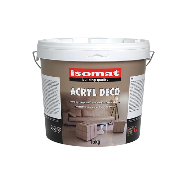 Rev tement acrylique d coratif pour sol et murs isomat - Revetement de sol et mur ...