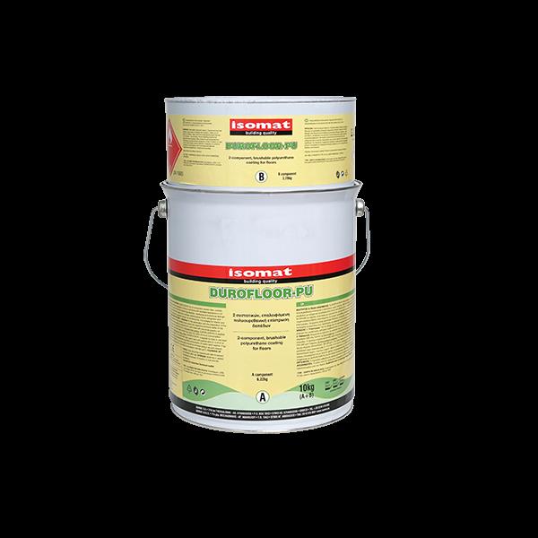 revêtement de sol à base de polyuréthane appliqué au rouleau