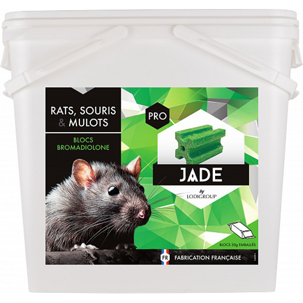 bloc rondenticide jade bloc bromapesce bloc base de bromadiolone rodenticides lutte. Black Bedroom Furniture Sets. Home Design Ideas