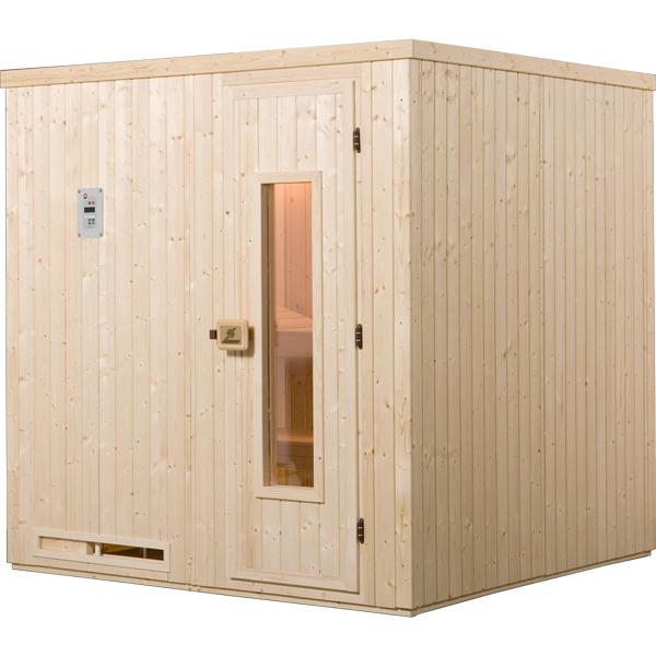 sauna halmstad 3 classic os po le 230 v 4 5 kw avec po le lumi res et c bles. Black Bedroom Furniture Sets. Home Design Ideas