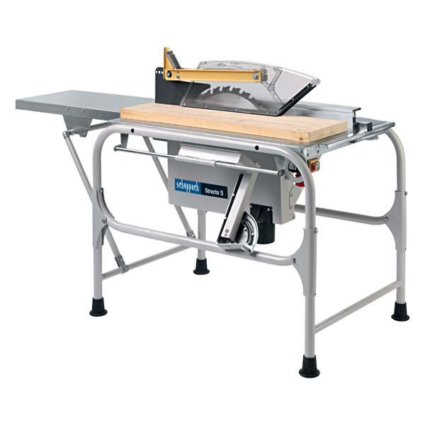 scie de chantier 230 v 500 mm structo 5 scies sur table achatmat. Black Bedroom Furniture Sets. Home Design Ideas