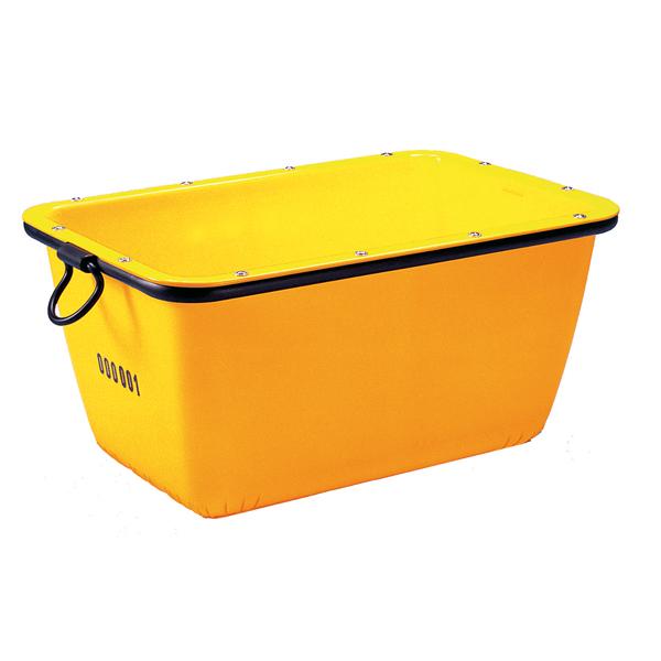 bac mortier 200 l jaune seau auge bac achatmat. Black Bedroom Furniture Sets. Home Design Ideas