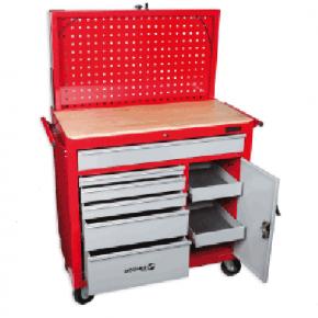 servante tabli mobile avec panneau porte outils. Black Bedroom Furniture Sets. Home Design Ideas